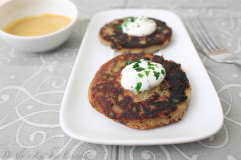 Potato and Caraway Cakes by Darina Allen