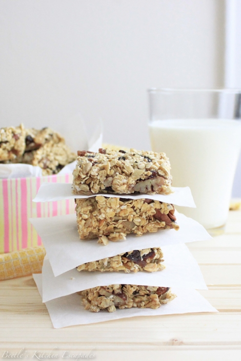 Breakfast Bars by Nigella Lawson